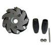 Nexus 14087 100mm Left Aluminium Mecanum Wheel