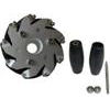 Nexus 14092 100mm Right Aluminium Mecanum Wheel