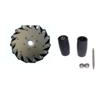 Nexus 14095 152mm Left Aluminium Mecanum Wheel