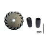 Nexus 14099 152mm Right Aluminium Mecanum Wheel