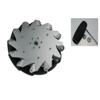 Nexus 14130 254mm Right Aluminium Mecanum Wheel