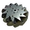 Nexus 14136 203mm Left Steel Mecanum Wheel