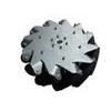 Nexus 14139 254mm Left Steel Mecanum Wheel